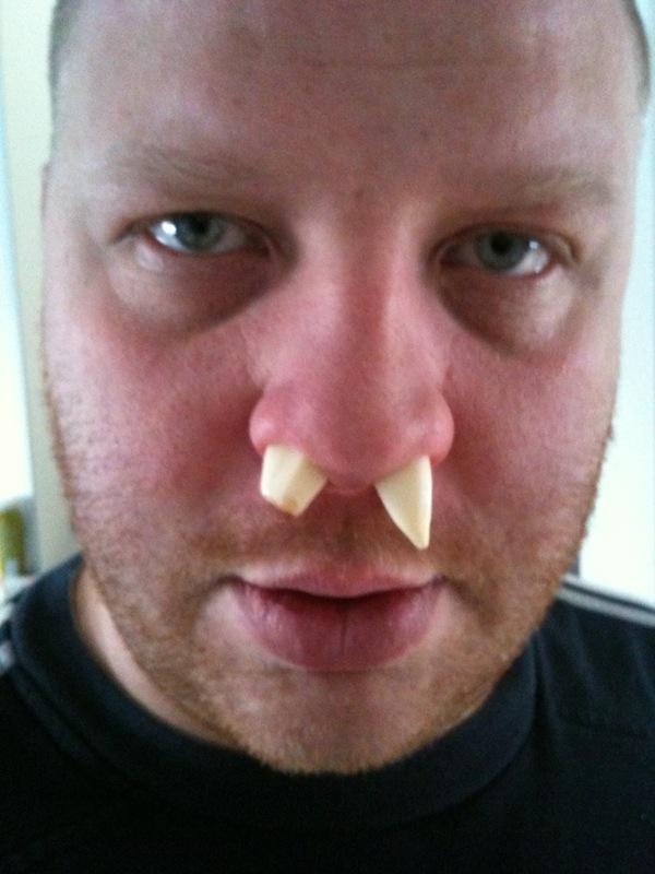 vitlök i näsan